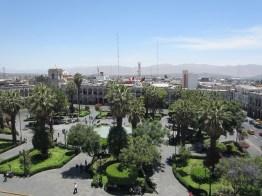 Plaza de Armas, Arequipa.
