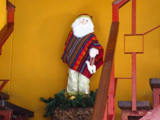 Santa (with llama)