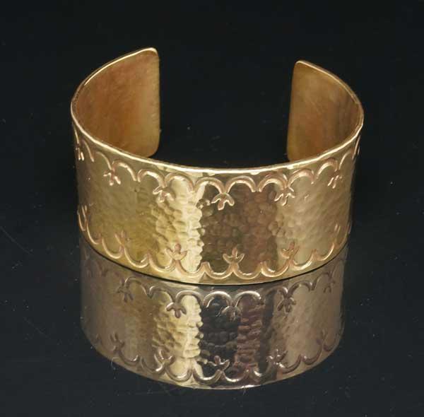 Decontie & Brown brass bracelet