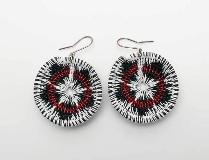 LaKota Scott Desert Lily Basket Earrings