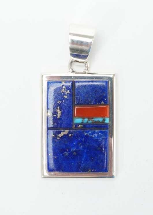 Earl Plummer Lapis Lazuli Pendant