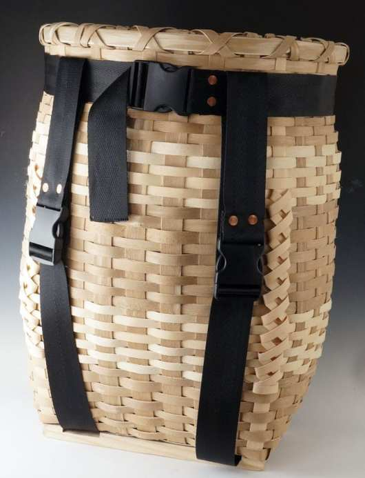 Richard Silliboy pack basket