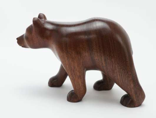 Robbie Craig Walnut Wood Bear