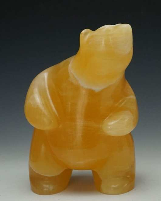 Gabe Sice Honey Calcite Bear
