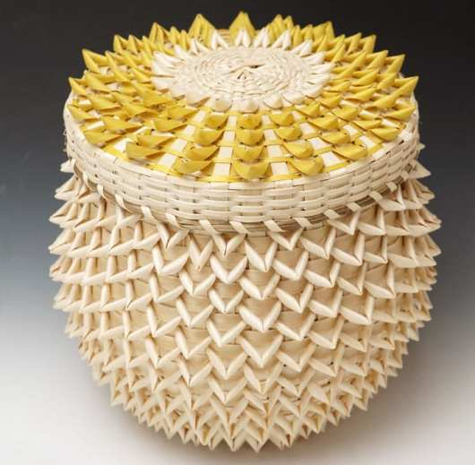 Gal Frey Basket Yellow Points