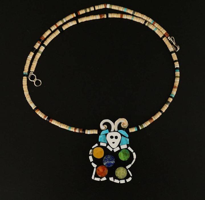 Mary Tafoya Butterfly Necklace