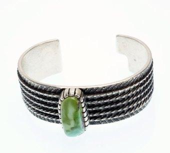 Althea Cajero Green Turquoise Cuttlefish Cast Bracelet