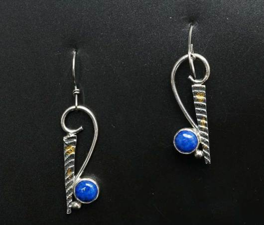 Cheryl Arviso Lapis Lazuli earrings