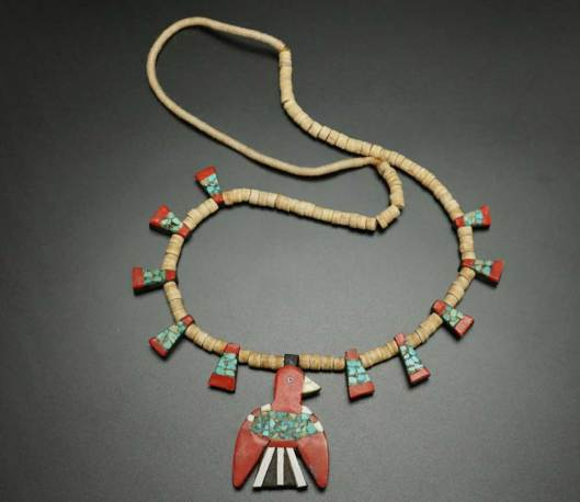 Depression Era Thunderbird Necklace 1