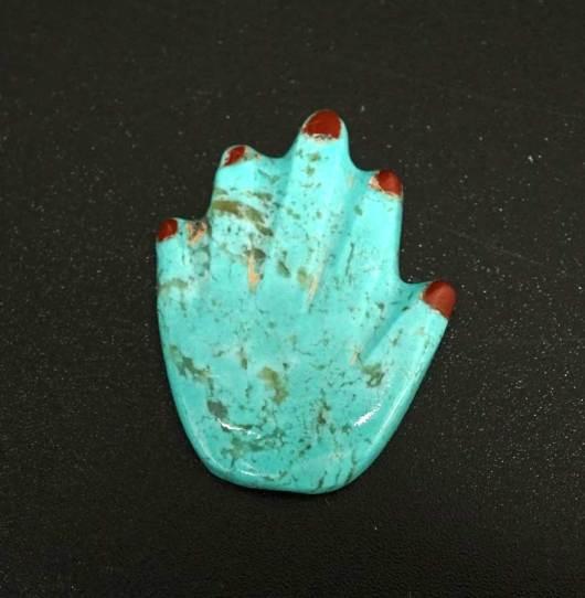 Mario Boqua and Fitz Kyite Turquoise Hand