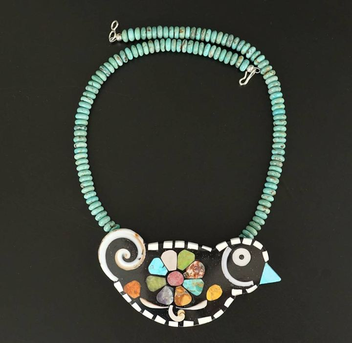 Mary Tafoya Bird Necklace 2