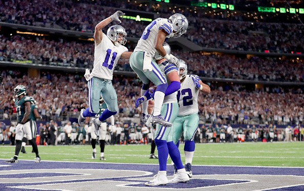 NFL Cowboys became the first team in the league to officially clinch a playoff berth