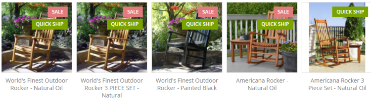 Order Frontera Outdoor Rocking Chairs Review