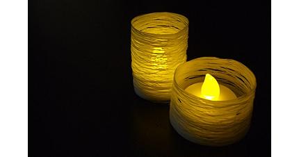 Thread Led Tea Light Cover Home And Garden