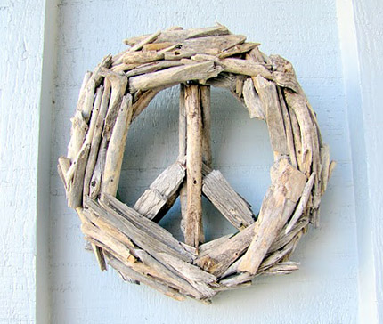 Peace Sign From Driftwood Home And Garden