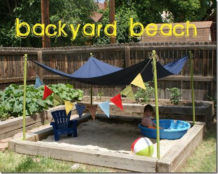 Backyard Beach - Home and Garden