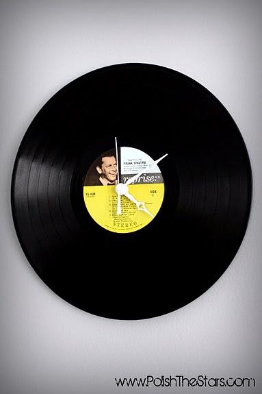 Vinyl Record Album Clock Home And Garden
