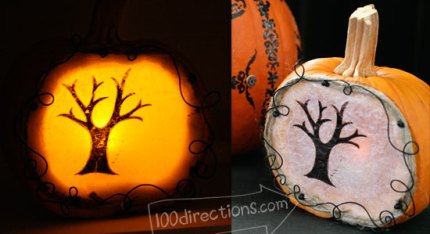 Little Pumpkin Luminary