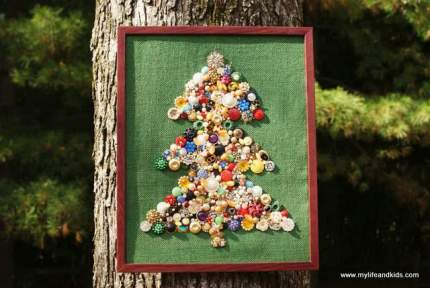 Bejeweled Christmas Tree