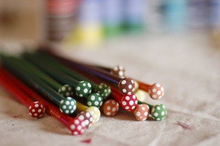 Toadstool Colored Pencils