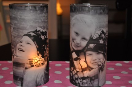 Vellum Photo Votives