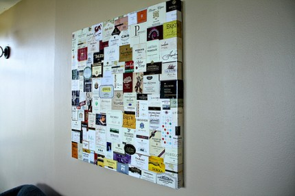 Wine Label Wall Art