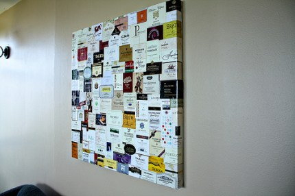Wine Label Wall Art