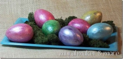 Faux Finish Alabaster Eggs