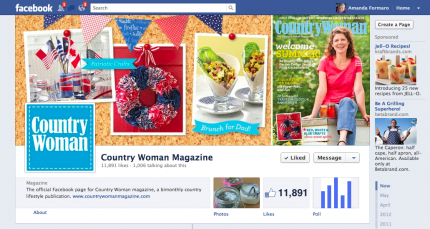 Country Woman Magazine on Facebook