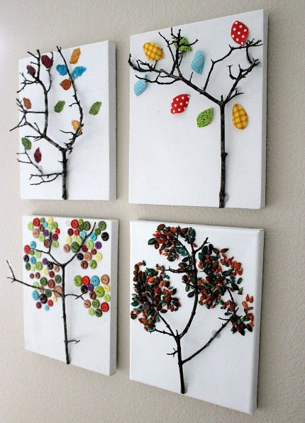 Twig Tree Canvas