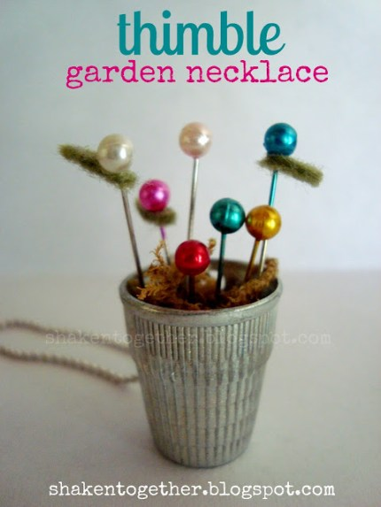 Thimble Garden Necklace