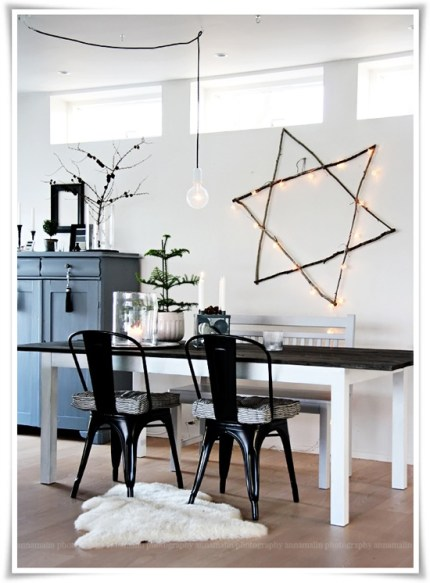 Giant Illuminated Star of David