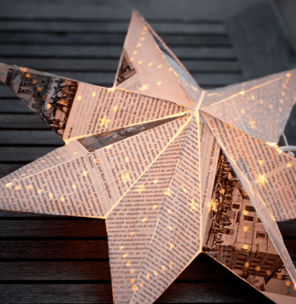 Make a Beautiful Advent Star