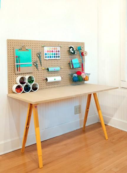 Kid's Crafts Work Station