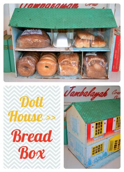 Vintage Dollhouse Bread Box