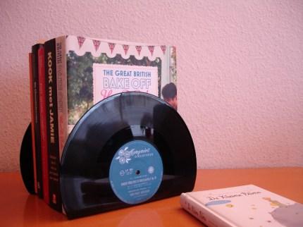 Vinyl Record Book Ends