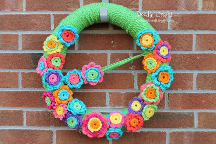 9 More Spring & Easter Wreaths @craftgossip
