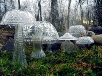 crystal mushrooms