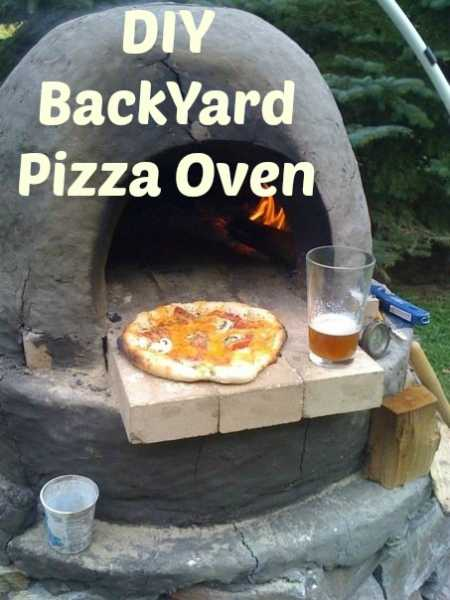 DIY Backyard Pizza Oven