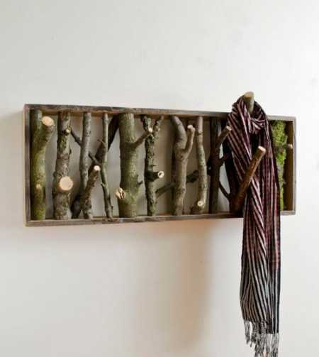 Awesome Woodwork Coat Hanger
