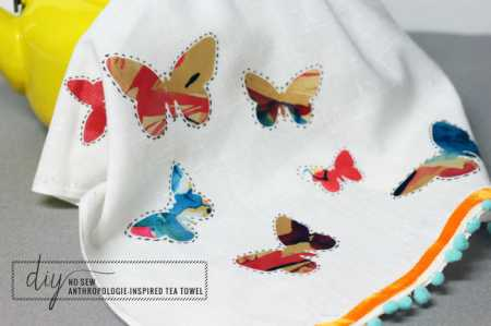 butterfly-towel-no-sew