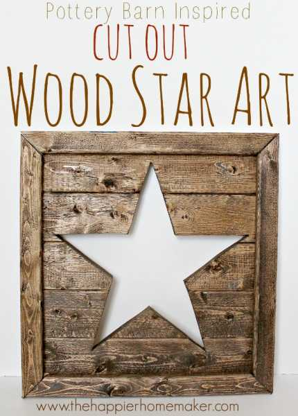 cut-out-wood-star-art