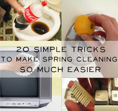 Some More Tricks To Make Spring Cleaning Easier Home And Garden