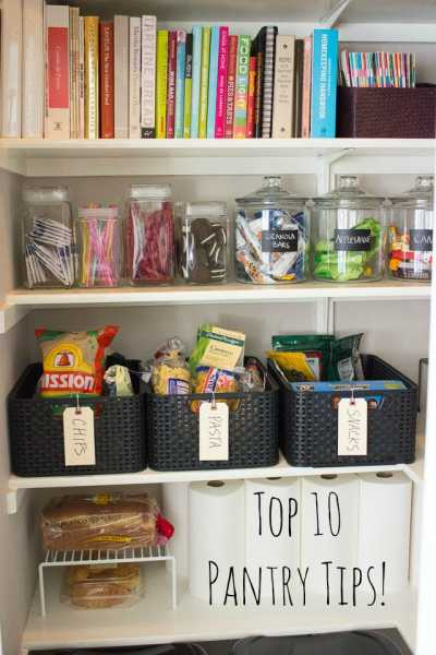 Top 10 Pantry Organization Tips Home And Garden