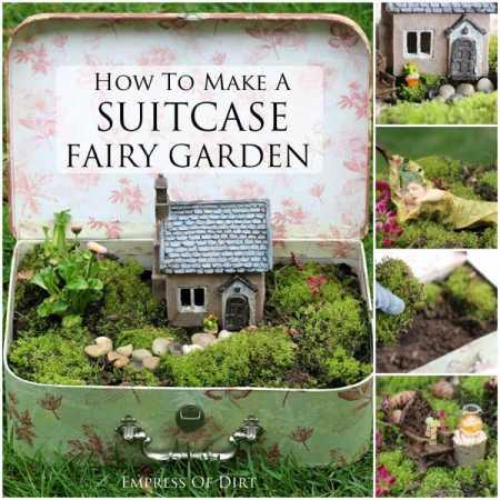 Make Your Own Suitcase Fairy Garden – Home and Garden