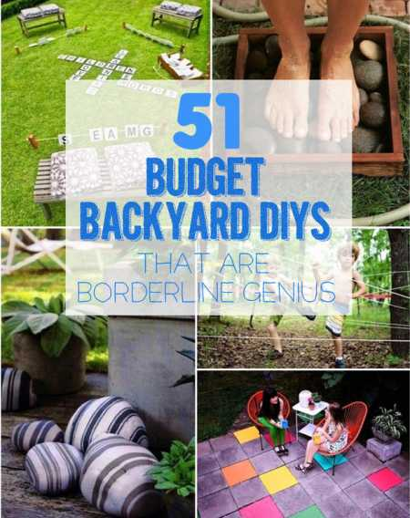 Budget Friendly Backyard DIY's