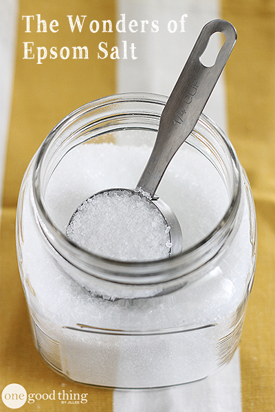 20 Unexpected Uses For Epsom Salt