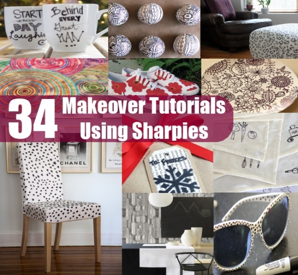 Sharpie Makeovers