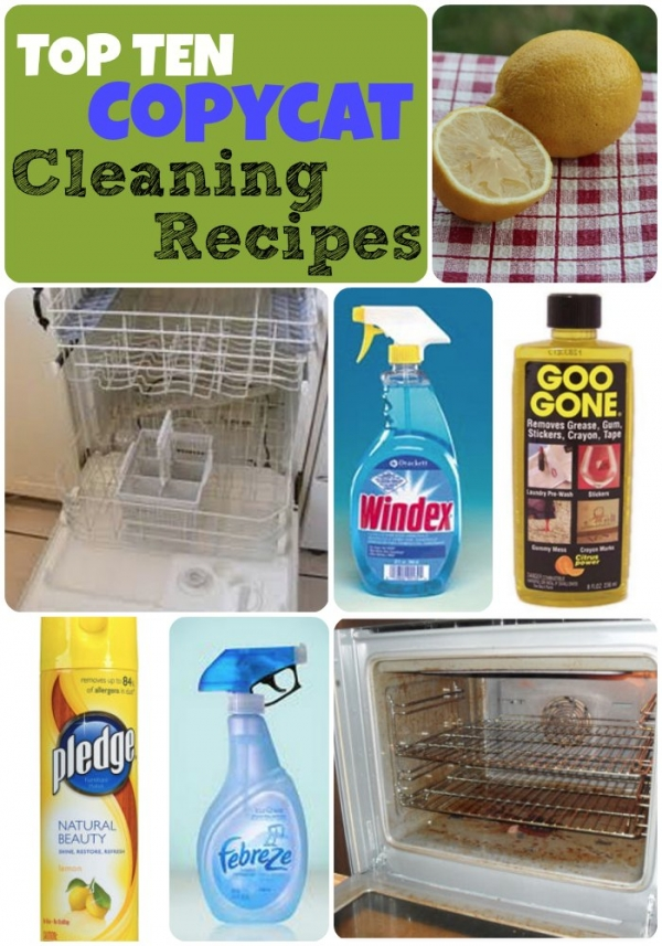 Stop paying so much for those famous cleaning products.