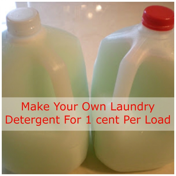 Save Big By Making Your Own Laundry Detergent